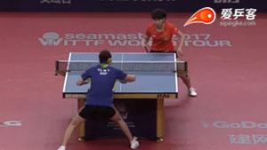 陈幸同VS于梦雨 2017澳大利亚乒乓球公开赛 女单第二轮视频