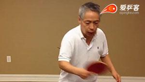 理论篇:反手技术脚下蹬转转腰力学分析!