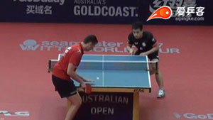 萨姆索洛夫VS廖振珽 2017澳大利亚乒乓球公开赛 男单第一轮视频