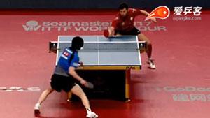 萨姆索洛夫VS松平健太 2017澳大利亚乒乓球公开赛 男单1/4决赛视频