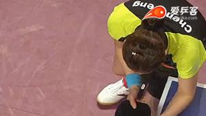 陈梦VS单晓娜 2017卡塔尔乒乓球公开赛 女单半决赛视频