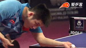 樊振东VS吉田雅己 2017卡塔尔乒乓球公开赛 男单1/4决赛视频
