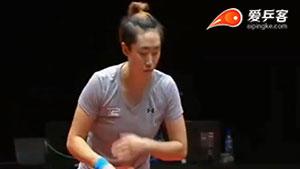 冯天薇VS田志希 2017T2联赛 女团视频