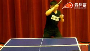 乒乓球技战术讲解:拉上旋球和下旋球的区别!