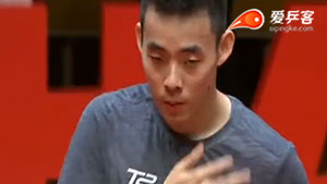 保罗·金克霍尔VS陈建安 2017T2联赛 男团视频