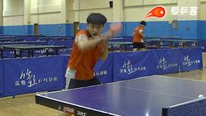 乒乓球正反手摆速的四个系统练习方案