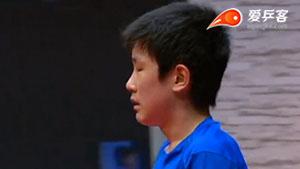 张本智和VS保罗·金克霍尔 2017T2联赛 男团视频