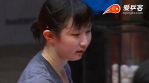 早田希娜VS苏塔西尼 2017T2联赛 女团视频