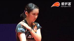 石川佳纯VS加藤美优 2017保加利亚乒乓球公开赛 女单半决赛视频