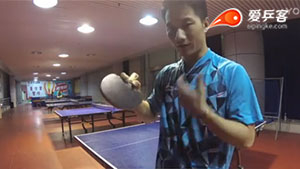 Yangyang问答篇:4.前国青队队员的直拍握拍三分6合技巧