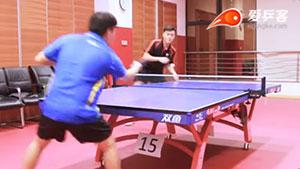 似魔鬼的步伐? 学会乒乓球推侧扑,赢球手到擒来!