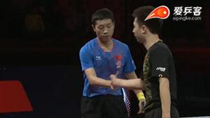 许昕VS方博 2017瑞典公开赛 男单半决赛视频