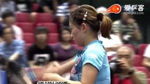 刘诗雯VS朱雨玲 2016日本乒乓球公开赛 女单半决赛视频
