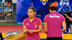 丁宁/刘诗雯VS梁夏银/田志希 2016韩国公开赛 女双决赛视频
