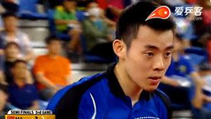 马龙VS陈建安 韩国公开赛 男单半决赛视频