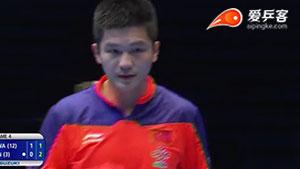 樊振东VS丹羽孝希 2015亚洲乒乓球锦标赛 男团决赛视频(第二场)