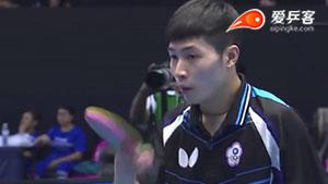 丹羽孝希VS王力创意 2015亚洲乒乓球锦标赛 男团半决赛视频(第三场)