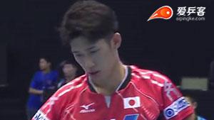 吉村真晴VS廖振珽 2015亚洲乒乓球锦标赛 男团半决赛视频(第二场)