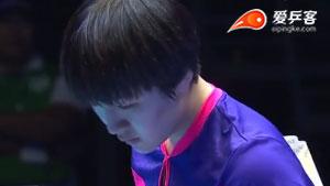 陈梦VS平野美宇 2015亚洲乒乓球锦标赛 女团决赛视频(第三场)