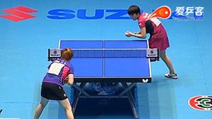 朱雨玲VS陈梦 2015亚洲乒乓球锦标赛 女单决赛视频(陈梦伤退)