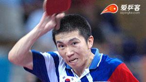 柳承敏VS瓦尔德内尔 2004奥运会乒乓球赛 男单半决赛视频