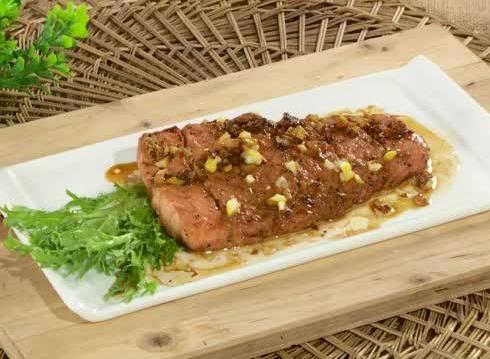 三文鱼的吃法—香煎三文鱼