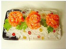 三文鱼的吃法—三文鱼片