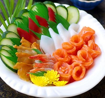 三文鱼的吃法—花样刺身