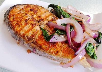 三文鱼的吃法—煎三文鱼