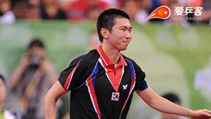 柳承敏VS陈卫星 2008奥运会乒乓球赛 男团季军赛视频(第四场)