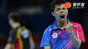 奥恰洛夫VS庄智渊 2012奥运会乒乓球赛 男单季军赛视频