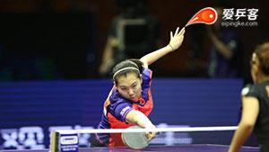 刘诗雯VS李晓霞 2015世乒赛 女单半决赛视频