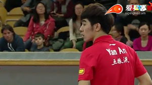 闫安VS樊振东 2013瑞典公开赛 男单决赛视频