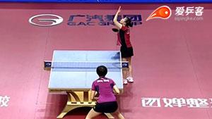 丁宁VS福原爱 2015中国公开赛 女单1/4决赛视频