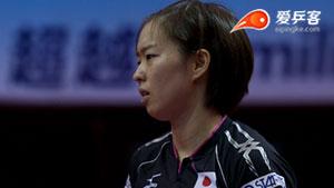 丁宁VS石川佳纯 2015中国公开赛 女单半决赛视频