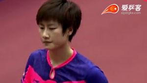 陈梦VS丁宁 2015日本乒乓球公开赛 女单半决赛视频