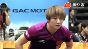 陈梦VS朱雨玲 2015日本乒乓球公开赛 女单决赛视频
