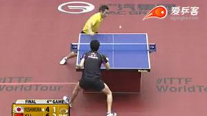许昕VS吉村真晴 2015日本乒乓球公开赛 男单决赛视频