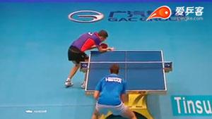 许昕VS萨姆索洛夫 2015年终总决赛 男单1/4决赛视频