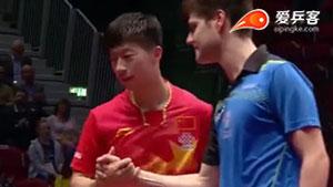 马龙VS奥恰洛夫 2015男子世界杯赛 男单半决赛视频