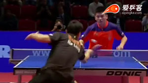 马龙VS樊振东 2015男子世界杯赛 男单决赛视频
