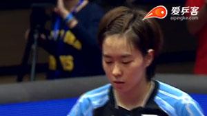 石川佳纯VS波塔 2014女子世界杯赛 女单季军赛视频