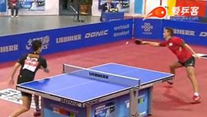 马龙VS阿波罗尼亚 2014男子世界杯赛 男单1/4决赛视频