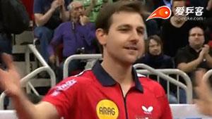 波尔VS奥恰洛夫 2014男子世界杯赛 男单1/4决赛视频