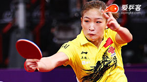 刘诗雯VS石川佳纯 2013中国公开赛 女单1/4决赛视频