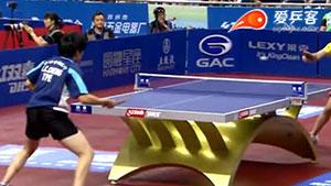 郑怡静VS朱雨玲 2013中国公开赛 女单1/4决赛视频