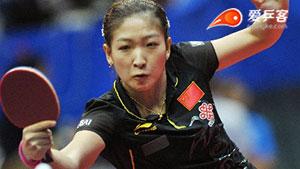 刘诗雯VS武杨 2014瑞典公开赛 女单半决赛视频