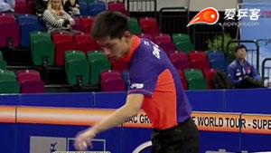 张继科VS闫安 2015德国公开赛 男单半决赛视频