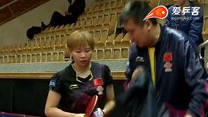 朱雨玲VS付玉 2015瑞典公开赛 女单1/4决赛视频
