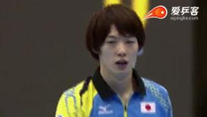 松平健太VS杜达 2016奥地利公开赛 男单半决赛视频